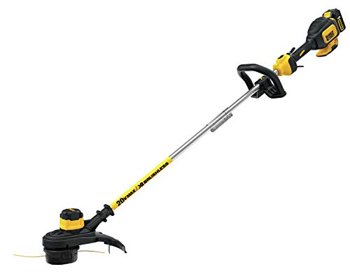 DEWALT 20V MAX String Trimmer, Brushless, 5-Ah Battery, 13-Inch (DCST920P1)