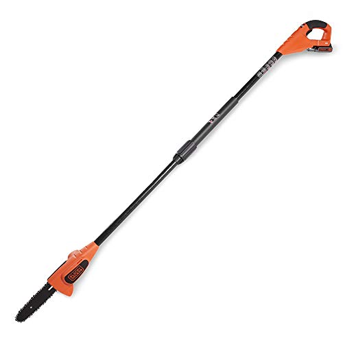 BLACK+DECKER 20V MAX Pole Saw, 8-Inch, Tool Only (LPP120B),Large