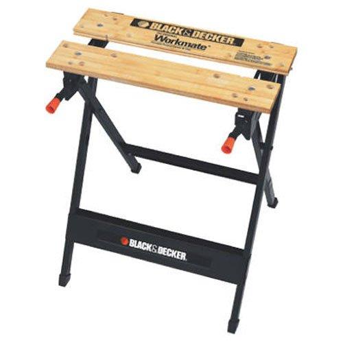 BLACK+DECKER WM125 Workmate 125 350 Pound Capacity Portable Work Bench