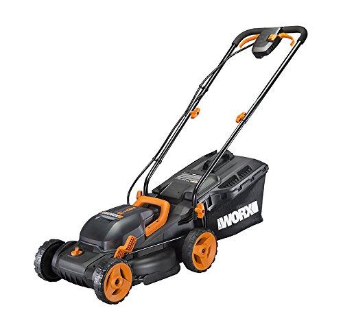 WORX WG779 40V Power Share 4.0 Ah 14' Lawn Mower w/ Mulching & Intellicut (2x20V Batteries)