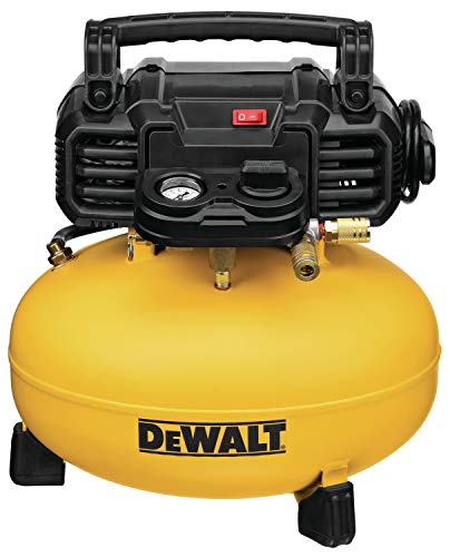 DEWALT Pancake Air Compressor, 6 Gallon, 165 PSI (DWFP55126)