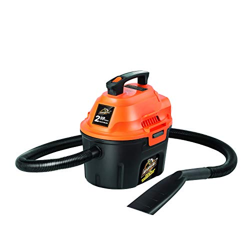 Armor All AA255 2.5 Gallon 2 Peak HP Wet/Dry Utility Shop Vacuum