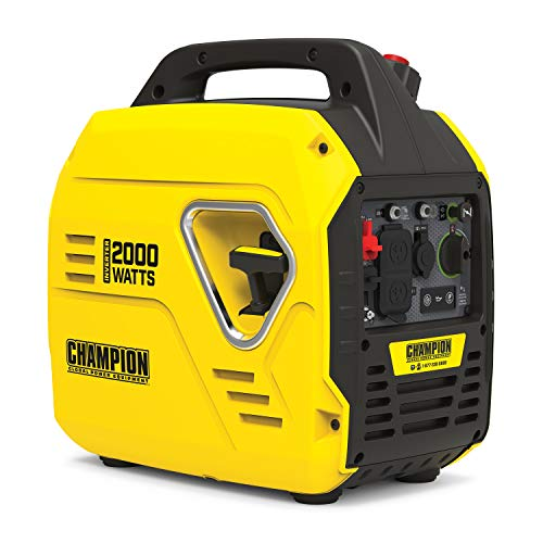 Champion Power Equipment 100692 2000-Watt Portable Inverter Generator, Ultralight