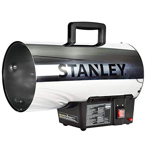STANLEY ST-60HB2-GFA Propane Heater, 60,000 BTU, Black, Silver