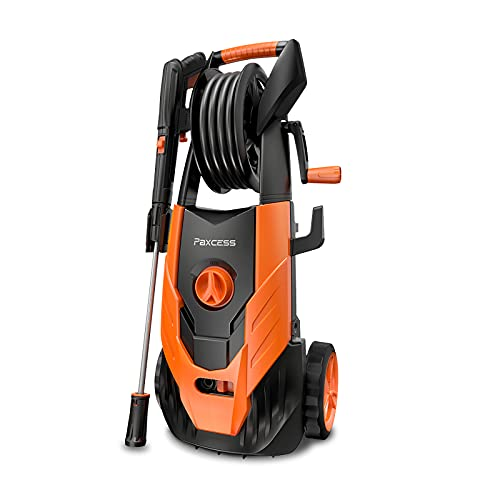 PAXCESS Electric Pressure Washer 2300 PSI 1.85 GPM High Pressure Power Washer Surface Cleaner with All in One Adjustable Spray Nozzle Foam Cannon for Car, Home, Driveway, Patio