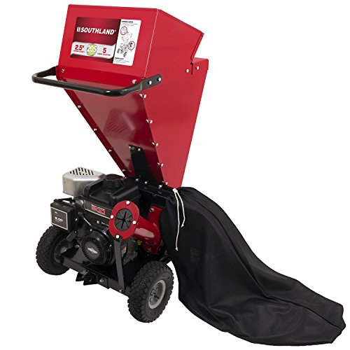 Southland SCS2052 Chipper Shredder with Briggs and Stratton Engine and a 2.5' Chipping Capacity