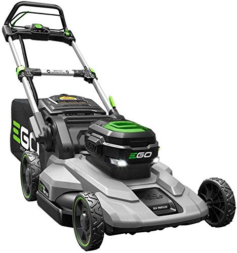 EGO 21 in. 56-Volt Lithium-Ion Cordless Battery Push Mower with 5.0 Ah battery and charger