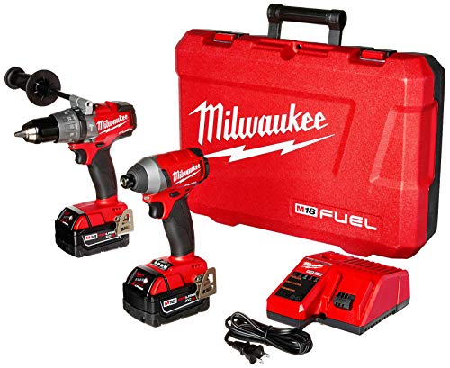 Milwaukee 2897-22 M18 Fuel 2-Tool Combo Kit, Red