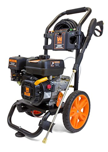 WEN PW3100 3100 PSI 2.5 GPM 208cc Gas Pressure Washer, CARB Compliant