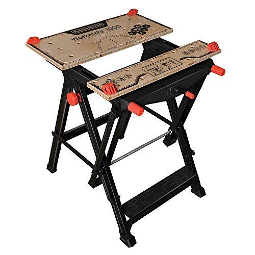 BLACK+DECKER Workmate Portable Workbench, 550-Pound Capacity (BDST11000)