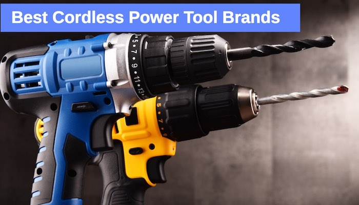 Best Cordless Power Tool Brands home