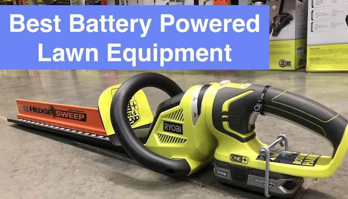 battery lawn equipment-feature